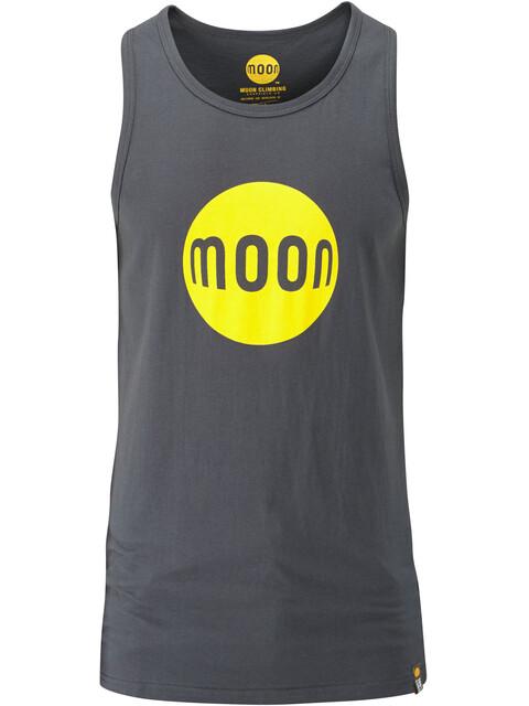Moon Climbing M's Moon Logo Vest Ebony